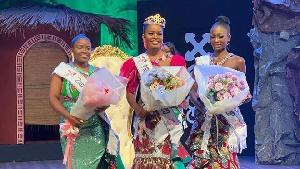 Monique Mawulawe Agbedekpui is Miss Ghana 2020