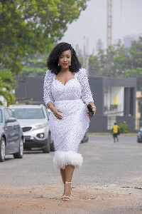 Actress and TV show host, Joselyn Dumas
