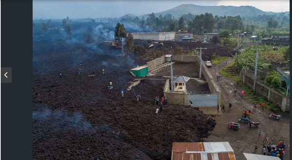 Many have been separated from their families ever since the volcano erupted