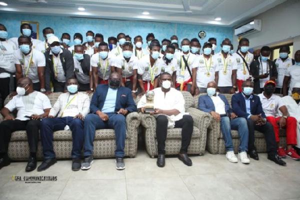 2021 CAF U20 Cup of Nations winners get heroes' welcome