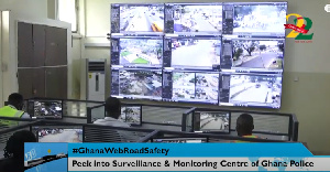 The Police Traffic Monitoring and Surveillance Center at the Police Headquarters