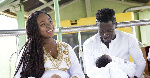Majesty takes photos of Shatta Michy for the first time, and they are absolutely gorgeous