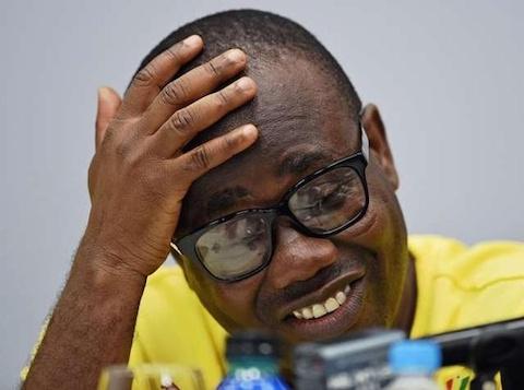 GFA President Kwesi Nyantaki