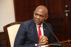Tony Elumelu is the Chairman of Transnational Corporation of Nigeria