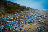 It is estimated that in Ghana, waste produced from plastic packaging amounts to 270 tonnes per day
