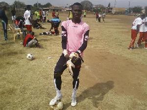 Prosper Gbeku is facing a lengthy ban