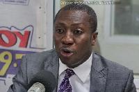 Alexander Afenyo Markin, MP for Efutu