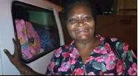 Obaa Yaa, traveled from Kumasi to marry Sarkodie