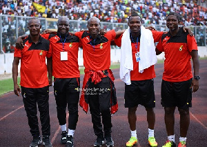 The technical team of the Black Stars