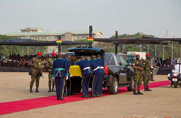 Mapped: Rawlings\'s final drive through Accra before burial