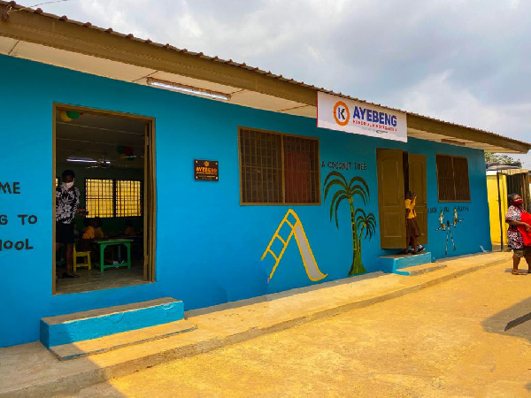 Ayebeng Memorial Kindergarten Block gets facelift