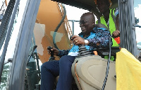 Akufo-Addo is expected to cut sod for construction of roads