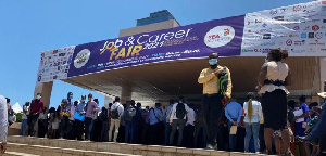 Many unemployed graduates were present at the YEA Job Fair over the week