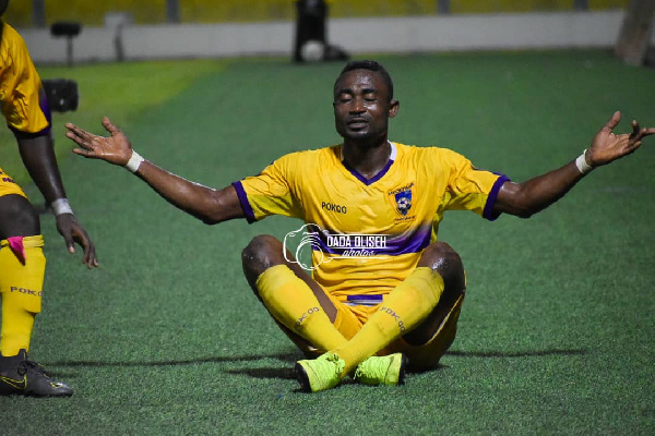 Medeama striker Prince Opoku Agyemang