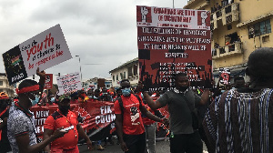 Thousands joined in the protest