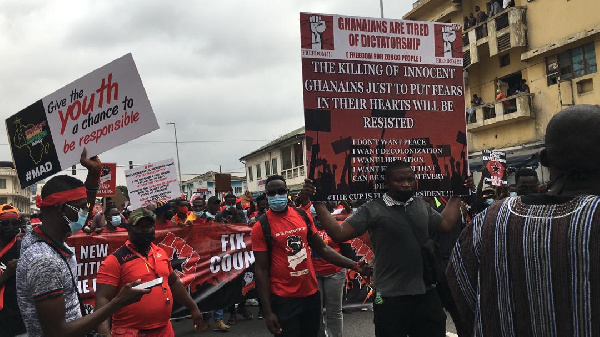 #FixTheCountry: Police forced protestors to wear nose masks – Afia Tenge