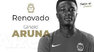 Ghanaian player, Ginaid Aruna