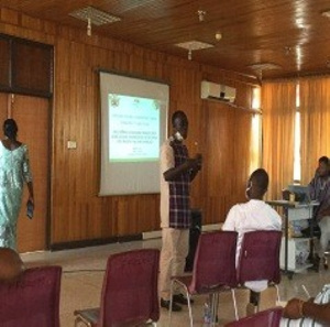 The meeting was attended by stakeholders in the agric value chain
