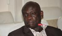 Mr. Robert Dwamena  MD of the Electricity Company of Ghana (ECG)