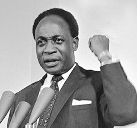 Ghana's first President, Dr. Kwame Nkrumah