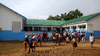 The newly built classroom block