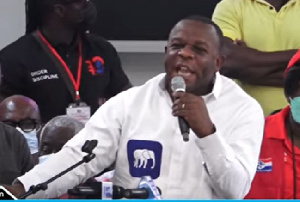 Lord Oblitey Commey is Director of Operations at the Presidency