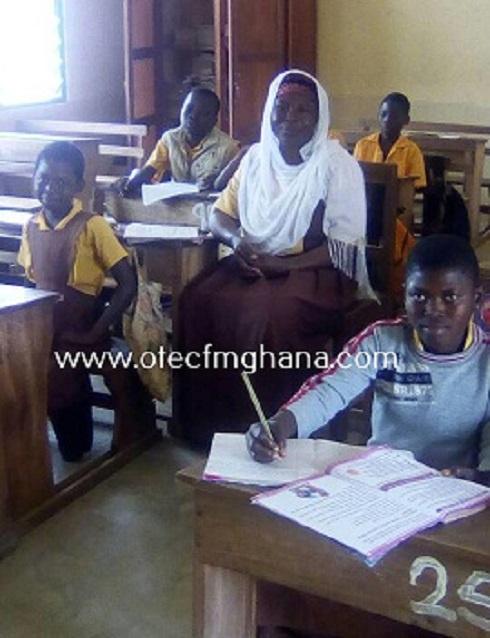 Rahanatu Usman in class