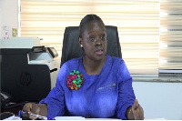 Nana Esi Soderberg, Deputy Manager, Marketing and Corporate Affairs of GPHA