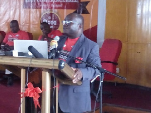 Mr Kenneth Ashigbey is Managing Director of the Graphic Communications Group Ltd