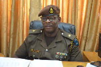 Chief PRO, Ghana Prisons Service, Supt. Vitalis Aiyeh