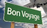 Letting 'bon voyage' echo through Ghana, once again