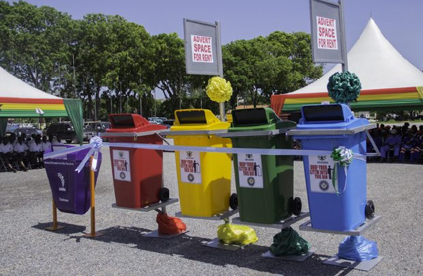 Sanitation Ministry spends about GH¢3.7million on dustbin distribution