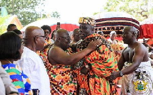 Nana Okyehene Hug