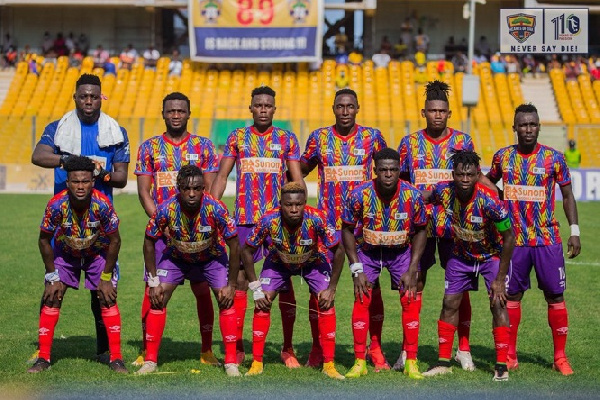 CAF Confederation Cup: Hearts of Oak to face JS Souara in second preliminary round