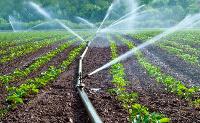 Sprinkler waters farm.    File photo.
