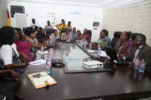 Some participants at the implementation of RIT Act (Act 989)