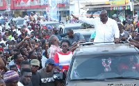 Nana Akufo-Addo during one of his campaign tour