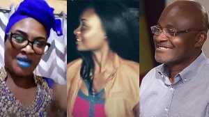 According to Miora, Kennedy Agyapong's son uses drugs and thus should stop picking on her daughter