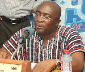 Dr Mahamudu Bawumia In Volta