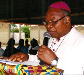 Catholic Bishop of Ho, Most Rev Francis Anani Kofi Lodonu