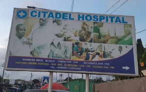 Patients on admission have been directed to seek healthcare at alternative facilities