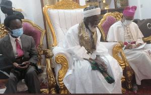 Chief Imam Sheikh Usman Nuhu Sharabutu has donated GH¢50,000 for the project