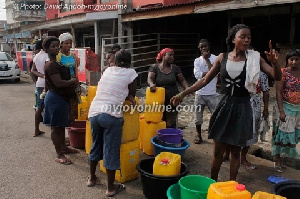 The residents want a more reliable schedule for the provision of water