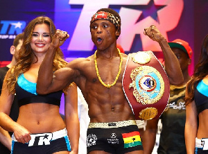 Dogboe is set for a unification bout in December