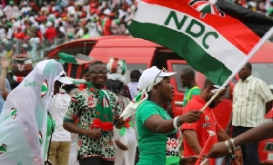 Supporters of the National Democratic Congress