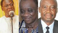 Prof. Christopher Ameyaw-Akumfi and Salifu Adam Braimah are possible contenders