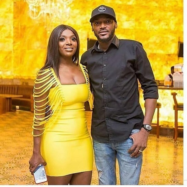 2Baba and his wife, Annie Idibia