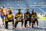Team Ghana were disqualified on changeover infringement in the final