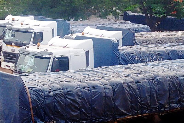 Over 50 trucks loaded with alleged smuggled subsidised fertilisers impounded early this year in Wa