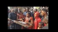 Maame Serwaa finally buried her mum on Saturday, January 20